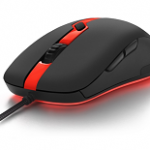 SHARKOON SHARK FORCE PRO RED OPTICAL GAMING MOUSE, 3,200 DPI