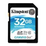 32GB SDHC CANVAS GO 90R/45W CL10 U3 V30