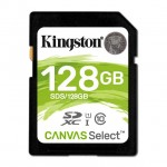 KINGSTON SDS/128GB 128GB SDXC CANVAS SELECT 80R CL10 UHS-I