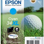 SINGLEPACK CYAN 34XL INK PALLINA DA GOLF