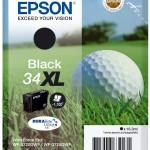 EPSON C13T34714010 SINGLEPACK BLACK 34XL INK PALLINA DA GOLF
