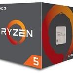 AMD YD2400C5FBBOX RYZEN 5 2400G 3.9GHZ QUADCORE RX VEGA