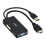 CONVERTER HDMI A DISPLAYPORT/DVI/VGA