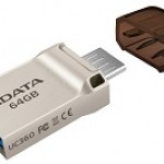 ADATA TECHNO AUC360-16G-RGD 16GB UC360 USB 3.1/MICROUSB