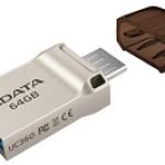 ADATA TECHNO AUC360-32G-RGD 32GB UC360 USB 3.1/MICROUSB