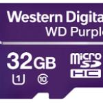 WESTERN DIGI WDD032G1P0A 32GB WD PURPLE MICRO SDHC PER VIDEOSORVEGLIANZA