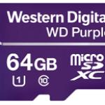 WESTERN DIGI WDD064G1P0A 64GB WD PURPLE MICRO SDXC PER VIDEOSORVEGLIANZA