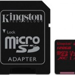 KINGSTON SDCR/128GB 128GB MICROSD CANVASREACT 100R/80W U3 UHS-I V30 A1