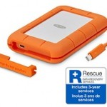 LACIE STFS4000800 4TB RUGGED THUNDERBOLT   USB 3.1 TYPE C