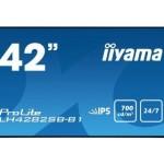 IIYAMA LH4282SB-B1 42  SUPER SLIM, 1920X1080, IPS PANEL, 6,5MM BEZEL