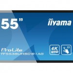 IIYAMA TF5538UHSC-B1AG 55  PCAP ANTI-GLARE BEZEL FREE 12-POINTS TOUCH