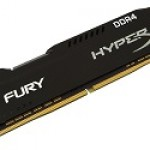 KINGSTON HX426C16FB2/8 8GB 2666MHZ DDR4 CL16 DIMM 1RX8 HYPERX FURY BLACK