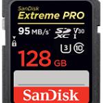 SANDISK SDSDXXG-128G-GN4IN EXTREME PRO SDXC 128GB - 95MB/S V30 UHS-I U3