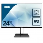 AOC 24V2Q 23,8  16 9 1920X1080 75HZ 250CD/M HDMI DISPLAYPORT