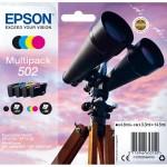 EPSON C13T02V64010 MULTIPACK STANDARD 4 COLORI SERIE 502 BINOCOLO