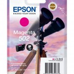 EPSON C13T02V34010 CARTUCCE INK 502 BINOCOLO 1X3,3ML MAGENTA