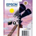 EPSON C13T02V44010 CARTUCCE INK 502 BINOCOLO 1X3,3ML GIALLO