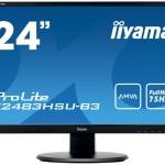 IIYAMA X2483HSU-B3 24  1920X1080, AMVA PANEL, 250CD/M²,  80MLN 1
