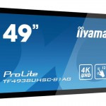 IIYAMA TF4938UHSC-B1AG 49 PCAP ANTI-GLARE BEZEL FREE 12-POINTS TOUCH