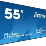 IIYAMA LH5550UHS-B1 55  3840 X 2160, 4K