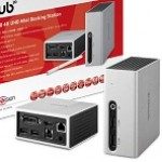 CLUB3D CSV-3104D USB 3.0 4K30HZ UHD MINI DOCKING STATION