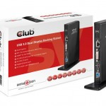 CLUB3D CSV-3242HD USB 3.0 DOCKING STATION BLACK