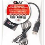 CLUB3D CSV-6200 MST HUB 1X DP - 2X DP