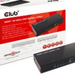 CLUB3D CSV-1380 HDMI 2.0 1X4 SPLIT