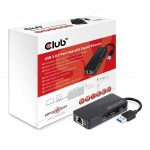 CLUB3D CSV-1430 USB 3.0 3PORT WITH GBIT ETHERNET