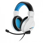 SHARKOON RUSH ER3 WHITE STEREO HEADSET, 2X 3.5 MM PLUG