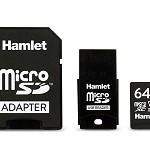 HAMLET XSD064-U3V30 MICRO SD XC U3 V30 64GB
