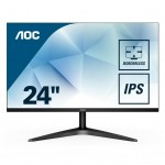 AOC 24B1XHS 23,8  16 9 BLACK FRAMELESS 1920X1080 60HZ DVI HDMI
