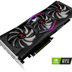 NVIDIA BY PN VCG20808TFPPB-O GEFORCE RTX 2080 XLR8 OC TRIPLE FAN