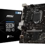 MSI B360M PRO-VD MB MSI B360M PRO-VD