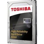 TOSHIBA HDWQ140UZSVA N300 NAS HARD DRIVE 4TB HDEXR01ZNA51F