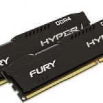 KINGSTON HX426C15FBK2/8 8GB 2666MHZ DDR4 CL15 DIMM (2X4GB) HX FURY NERO