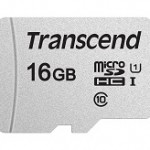 TRANSCEND TS16GUSD300S 300S 16GB UHS-I U1 MICROSD W/O ADAPTER