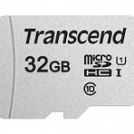 TRANSCEND TS32GUSD300S 300S 32GB UHS-I U1 MICROSD W/O ADAPTER