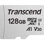 TRANSCEND TS128GUSD300S 300S 128GB UHS-I U3A1 MICROSD W/O ADAPTER