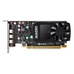 DELL 490-BDTB NVIDIA QUADRO P400, 2GB, 3 MDP, FH, (PRECISION )