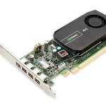 DELL 490-BBQU 2 GB NVIDIA QUADRO NVS 510 (4MDP) 4MDP-DP ADAPTERS