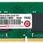 TRANSCEND JM2400HSH-4G 4GB JM DDR4 2400 SO-DIMM 1RX8