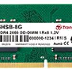 TRANSCEND JM2666HSH-4G 4GB JM DDR4 2666 SO-DIMM 1RX8 1.2V
