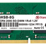 TRANSCEND JM2666HSB-8G 8GB JM DDR4 2666 SO-DIMM 1RX8 1.2V