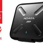 ADATA TECHNO ASD700-256GU31-CBK 256GB SSD SD700 WATER, DUST AND SHOCK PROOF BLACK