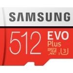 SAMSUNG MB-MC512GA/EU MICRO SD EVO PLUS 512GB UHS-1 GRADO 1 ADATTATORE