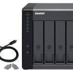 QNAP TR-004 QNAP DAS 4 BAIE 3.5  SATA, 1 X USB 3.0 TYPE-C