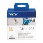 BROTHER DK11207 NASTRO ADES IN PELLIC 100 ETIC. CD DVD DIAM. 58MM