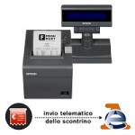 EPSON POS C31CB76002JN FP90III LCD EDG 80MM RT + TASTIERINO 23 TASTI