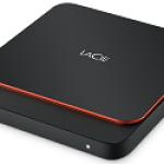 LACIE STHK500800 500GB LACIE PORTABLE SSD USB-C